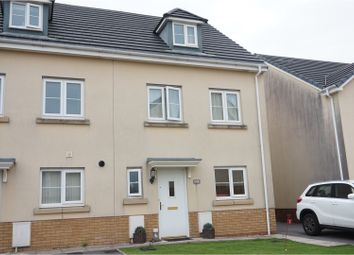 Thumbnail 3 bed terraced house for sale in Moorland Green, Gorseinon