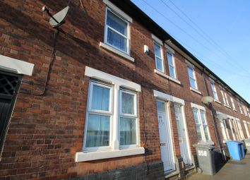 Thumbnail 3 bed terraced house to rent in Osmaston Road, Derby