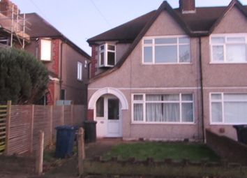 Thumbnail 3 bed semi-detached house to rent in The Fairway, Northolt