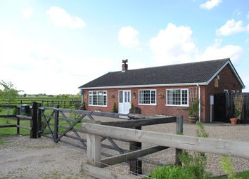 Thumbnail 3 bed detached bungalow for sale in Cheal Road, Spalding, Lincolnshire