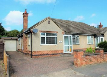 Thumbnail 2 bedroom semi-detached bungalow for sale in Mendip Road, Duston, Northampton