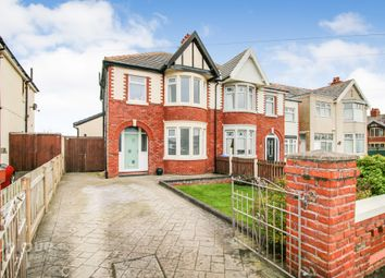 Thumbnail 3 bed semi-detached house for sale in Norbreck Road, Thornton-Cleveleys