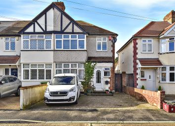 Thumbnail 3 bed end terrace house for sale in Clive Avenue, Crayford, Kent