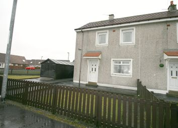 Thumbnail 2 bed end terrace house for sale in Rimmon Crescent, Shotts