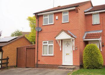 Thumbnail 2 bed semi-detached house for sale in Louise Avenue, Groby