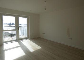 Thumbnail 2 bed flat to rent in Azura, Centenary Quay, Woolston, Southampton