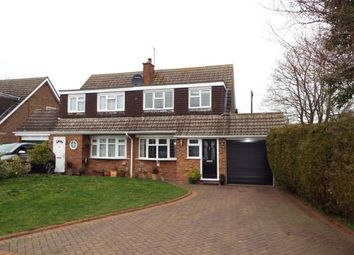 Thumbnail 3 bed semi-detached house for sale in Redfield Close, Dunstable, Bedfordshire, England
