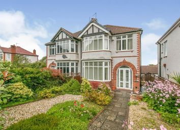 Thumbnail 3 bed semi-detached house for sale in Fron Park Road, Holywell, Flintshire, North Wales