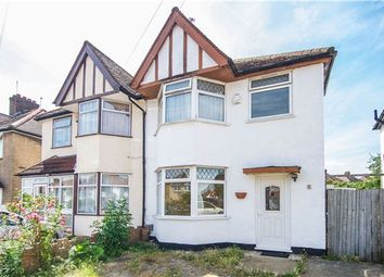 Thumbnail 3 bed semi-detached house for sale in Merlin Crescent, Edgware, Middlesex