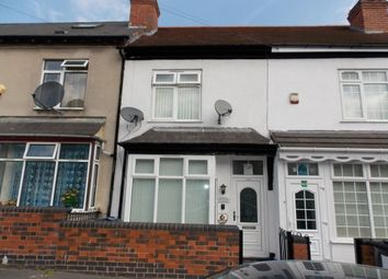 Thumbnail 4 bedroom terraced house to rent in Alderson Road, Alum Rock, Birmingham