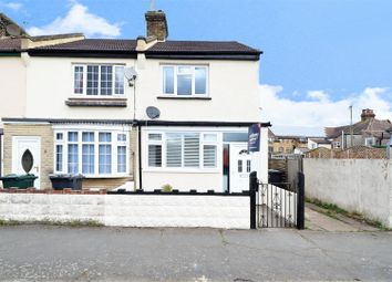 Thumbnail 2 bed end terrace house for sale in Castle Road, Swanscombe