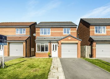 Thumbnail 3 bed detached house for sale in Cloverhill Court, Craghead, Stanley