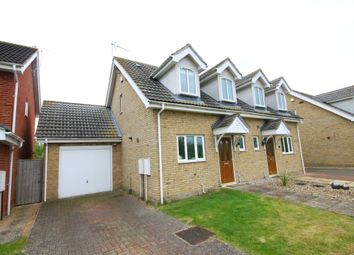 Thumbnail 3 bedroom semi-detached house for sale in Lanthorn Stile, Fulbourn