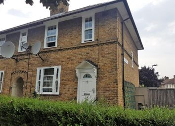 Thumbnail 3 bedroom end terrace house to rent in Henningham Road, London