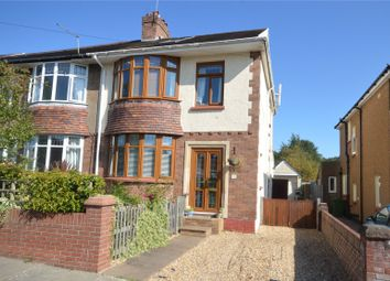 Thumbnail 4 bed semi-detached house for sale in Heol Esgyn, Cyncoed, Cardiff