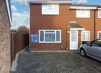 Thumbnail 2 bed terraced house to rent in Sheerwold Close, Swindon, Wiltshire