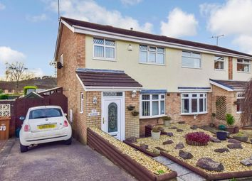 Thumbnail 3 bed semi-detached house for sale in Graig-Yr-Wylan, Caerphilly
