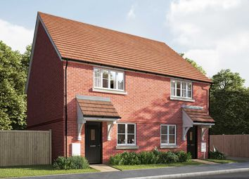 "Thumbnail 2 bed semi-detached house for sale in ""The Cartwright"" at Mill Road, Hailsham"