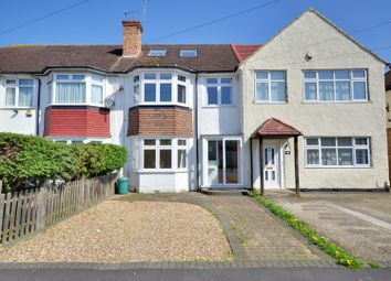Thumbnail 3 bed terraced house to rent in Richmond Avenue, Hillingdon, Middlesex