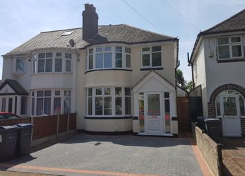 Thumbnail 3 bed semi-detached house to rent in Dewsbury Grove, Perry Barr, Birmingham