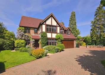 Thumbnail 5 bed detached house for sale in Nightingale Close, Radlett