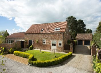 Thumbnail 4 bed barn conversion for sale in Tollerton, York