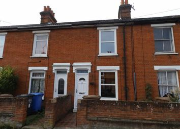 Thumbnail 2 bedroom terraced house to rent in Rosebery Road, Ipswich, Suffolk
