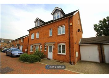 Thumbnail 4 bed semi-detached house to rent in Nine Acres Close, Hayes