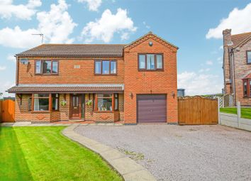 Thumbnail 6 bed detached house for sale in Elizabeth Close, Scotter, Gainsborough