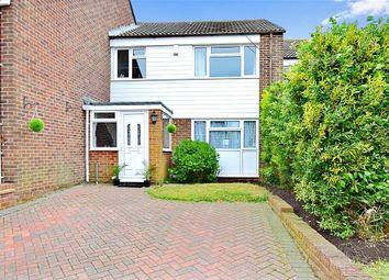 Thumbnail 3 bed terraced house for sale in Capel Street, Capel-Le-Ferne, Folkestone, Kent
