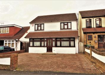 Thumbnail 3 bed detached house for sale in Chase Cross Road, Romford