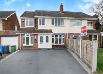 Thumbnail 4 bed semi-detached house for sale in Churchfield Close, Coven, Wolverhampton