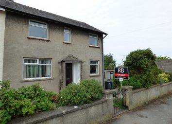 Thumbnail 3 bed semi-detached house for sale in Gaskell Close, Silverdale, Carnforth
