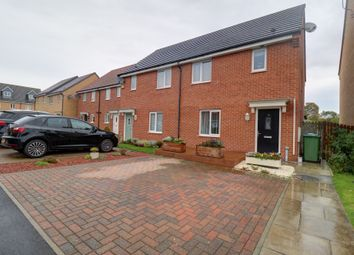 Thumbnail 3 bed semi-detached house for sale in Alexandra Chase, Cramlington