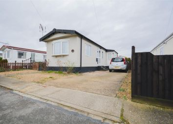 Thumbnail 1 bed mobile/park home for sale in Enfield Court, Pioneer Caravan Site, Eye, Peterborough