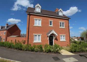 Thumbnail 5 bed detached house for sale in Arnold Way, New Cardington, Shortstown, Bedford
