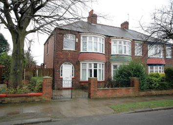 Thumbnail 3 bedroom semi-detached house for sale in Harrow Road, Middlesbrough, North Yorkshire