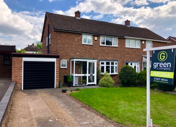 Thumbnail 3 bed semi-detached house for sale in Gillway Lane, Tamworth