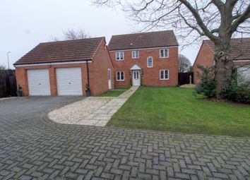Thumbnail 4 bed detached house for sale in Briar Close, Elkesley, Nr. Retford