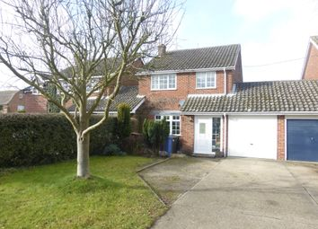Thumbnail 3 bedroom link-detached house for sale in Churchgate, Glemsford, Sudbury