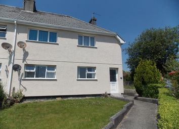 Thumbnail 1 bed flat to rent in Polkyth Road, St. Austell