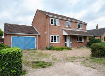 Thumbnail 4 bed detached house for sale in Ferry Lane, Brothertoft, Boston