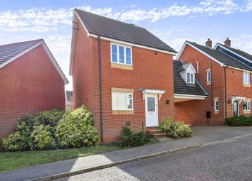 Thumbnail 3 bedroom detached house for sale in Springtail Road, Pinewood, Ipswich