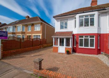 Thumbnail 3 bed semi-detached house for sale in St. Cadoc Road, Cardiff
