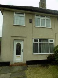 Thumbnail 3 bedroom end terrace house to rent in Linner Road, Speke, Liverpool
