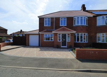 Thumbnail 5 bedroom semi-detached house for sale in Gretton Place, High Heaton, Newcastle Upon Tyne
