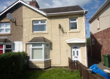 Thumbnail 3 bed semi-detached house to rent in Dene Road, Guidepost, Choppington