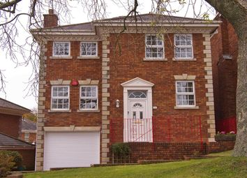 Thumbnail 4 bed detached house for sale in Burleigh Manor, Hartley, Plymouth