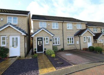 Thumbnail 3 bed semi-detached house for sale in Kings Croft, Drighlington, Bradford, West Yorkshire