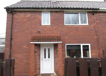 Thumbnail 2 bed semi-detached house for sale in Burwell Avenue, West Denton, Newcastle Upon Tyne